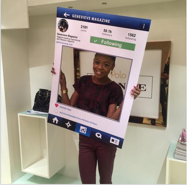 Genevieve Magazine Website Launch - Mariam Adeyemi