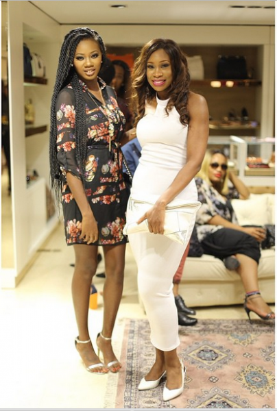 Genevieve Magazine Website Launch - Mercy Ajisafe and a guest