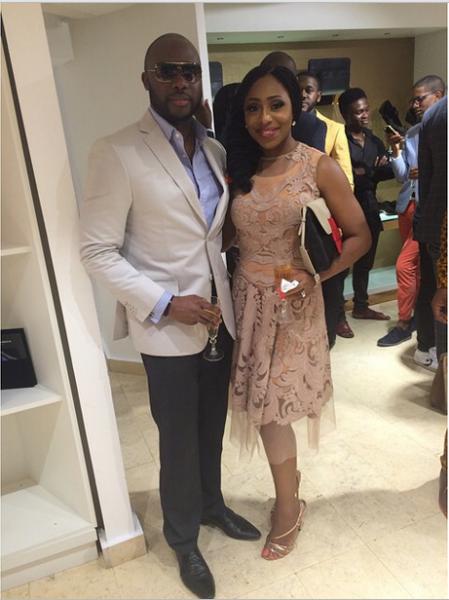 Genevieve Magazine Website Launch - Olu and Dakore Akande