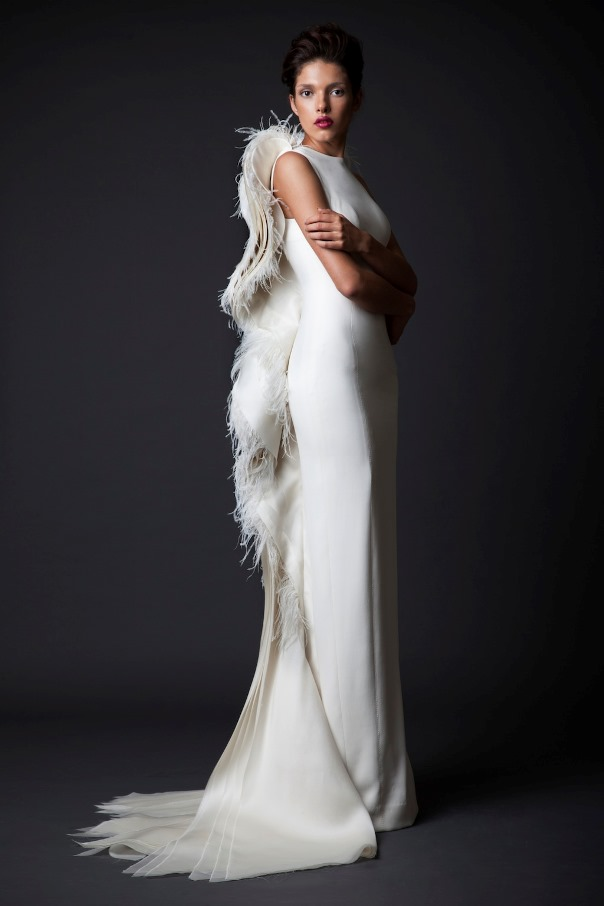 Krikor Jabotian Fall Winter 2014 2015 LoveweddingsNG19