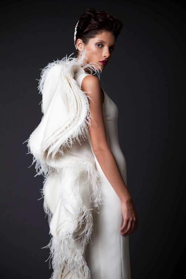 Krikor Jabotian Fall Winter 2014 2015 LoveweddingsNG20