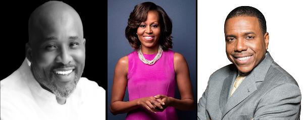 LoveweddingsNG Lanre Olusola, Michelle Obama and Creflo Dollar