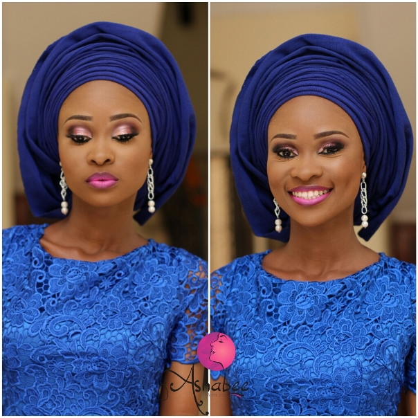 LoveweddingsNG Monotone Makeup by Ashabee