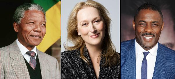 LoveweddingsNG Nelson Mandela, Meryl Streep, Idris Elba