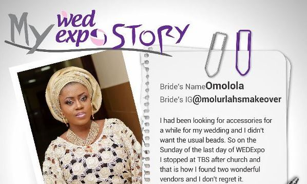 LoveweddingsNG Wed Expo Story - Omolola
