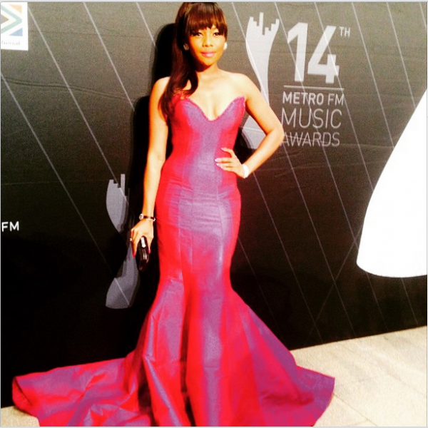 Metro FM Music Awards- Bonang-Matheba LoveweddingsNG1