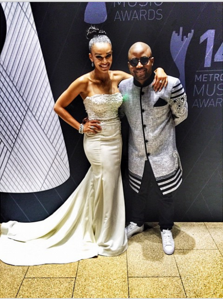 Metro FM Music Awards- Pearl Thusi LoveweddingsNG