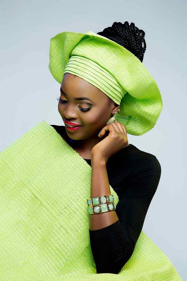 Nigerian Ready Made Gele - Asake LoveweddingsNG10