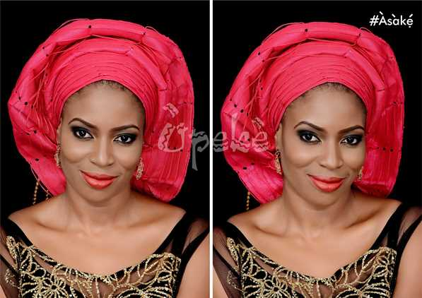 Nigerian Ready Made Gele - Asake LoveweddingsNG11