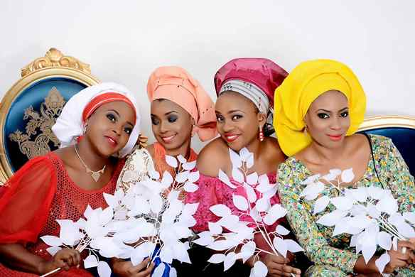 Nigerian Ready Made Gele - Asake LoveweddingsNG3