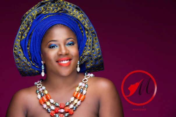 Nigerian Traditional Bridal Makeup Molurlahs Makeover LoveweddingsNG1
