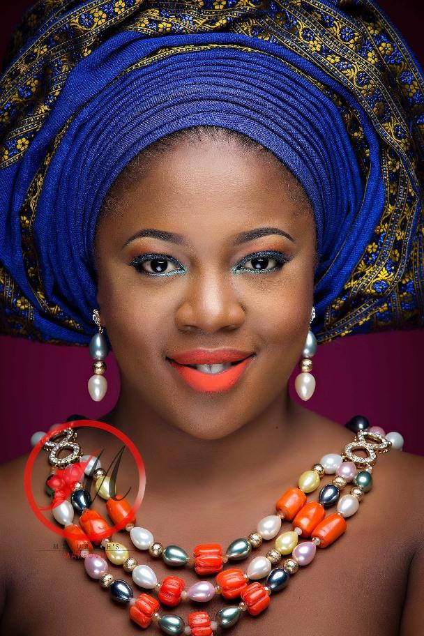 Nigerian Traditional Bridal Makeup Molurlahs Makeover LoveweddingsNG10
