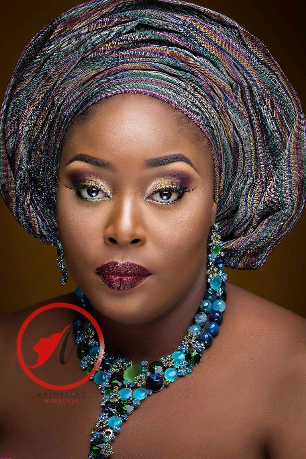Nigerian Traditional Bridal Makeup Molurlahs Makeover LoveweddingsNG3