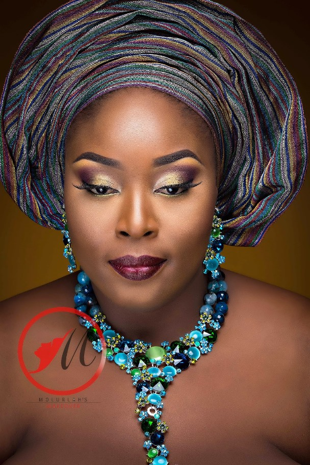 Nigerian Traditional Bridal Makeup Molurlahs Makeover ...