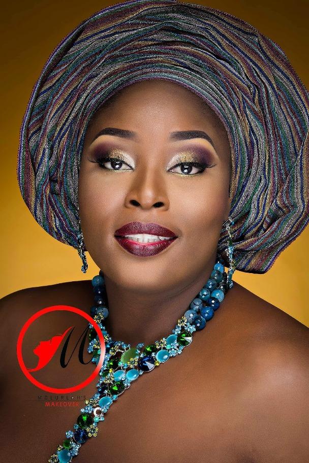 Nigerian Traditional Bridal Makeup Molurlahs Makeover LoveweddingsNG5