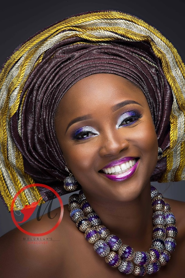 Nigerian Traditional Bridal Makeup Molurlahs Makeover LoveweddingsNG8
