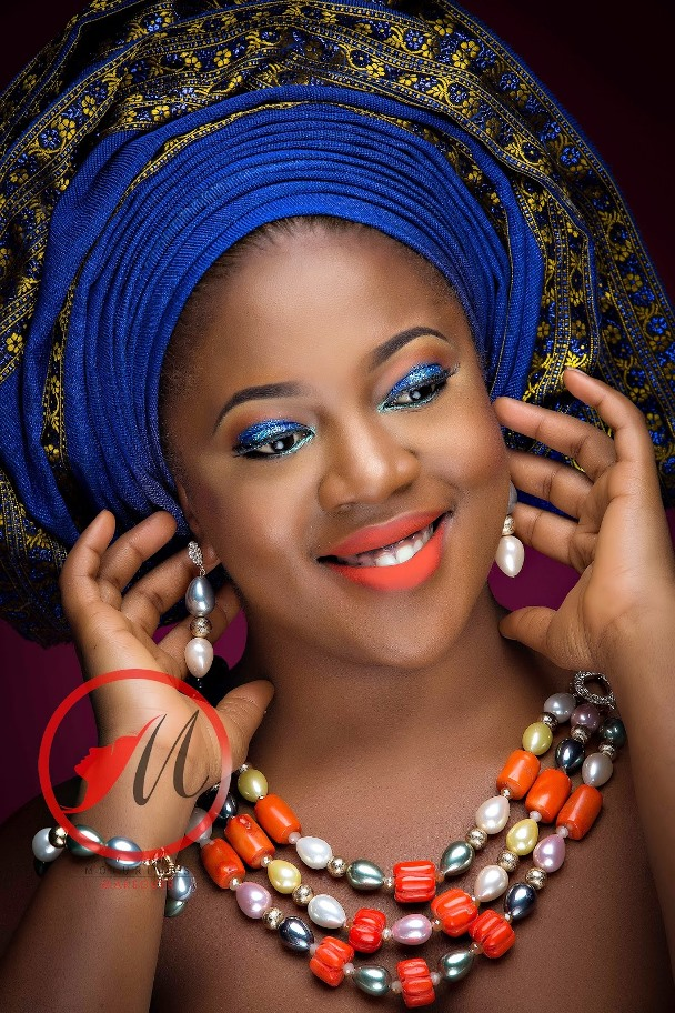 Nigerian Traditional Bridal Makeup Molurlahs Makeover LoveweddingsNG9