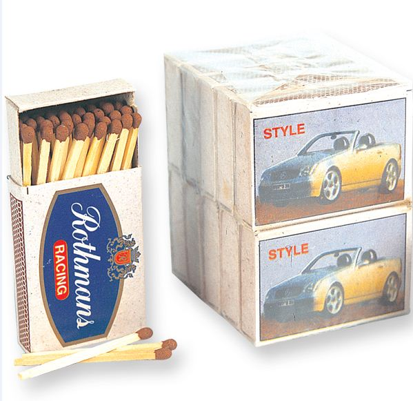 Nigerian Wedding Souvenirs - Unusual - Box of Matches LoveweddingsNG
