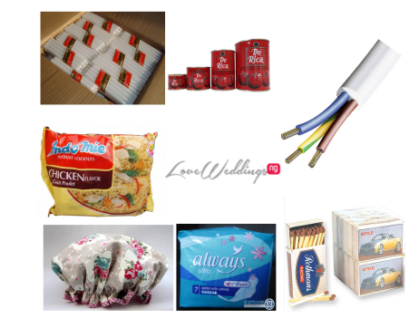 Nigerian Wedding Souvenirs - Unusual - Candles LoveweddingsNG feat
