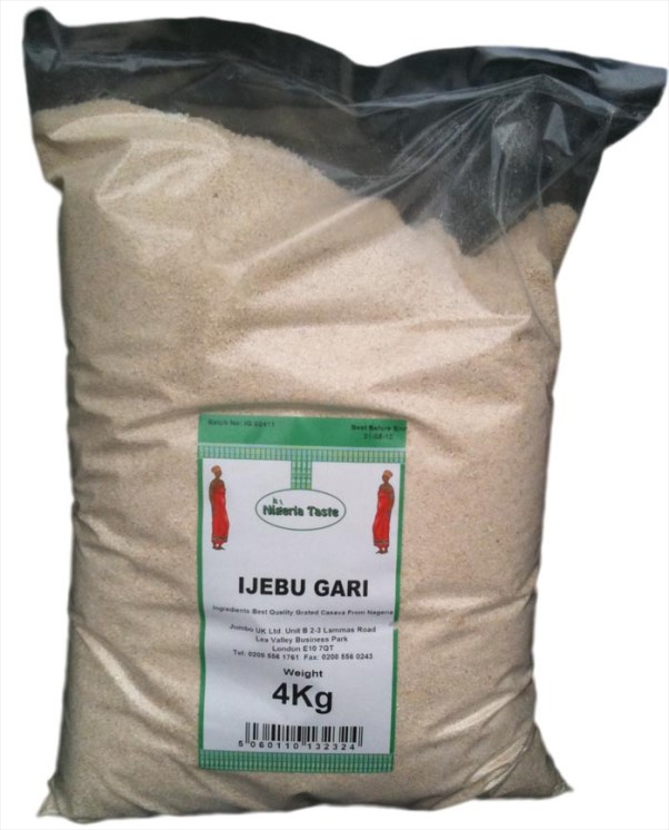 Nigerian Wedding Souvenirs - Unusual - Ijebu Garri LoveweddingsNG