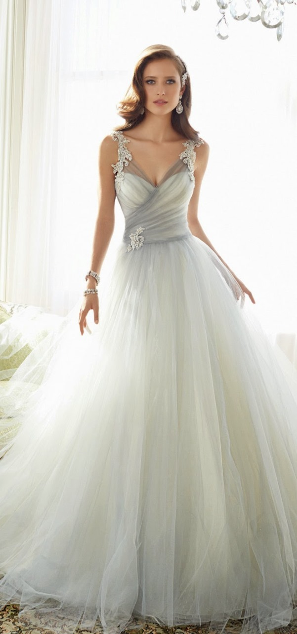 Sophia Tolli 2015 Bridal Collection - LoveweddingsNG