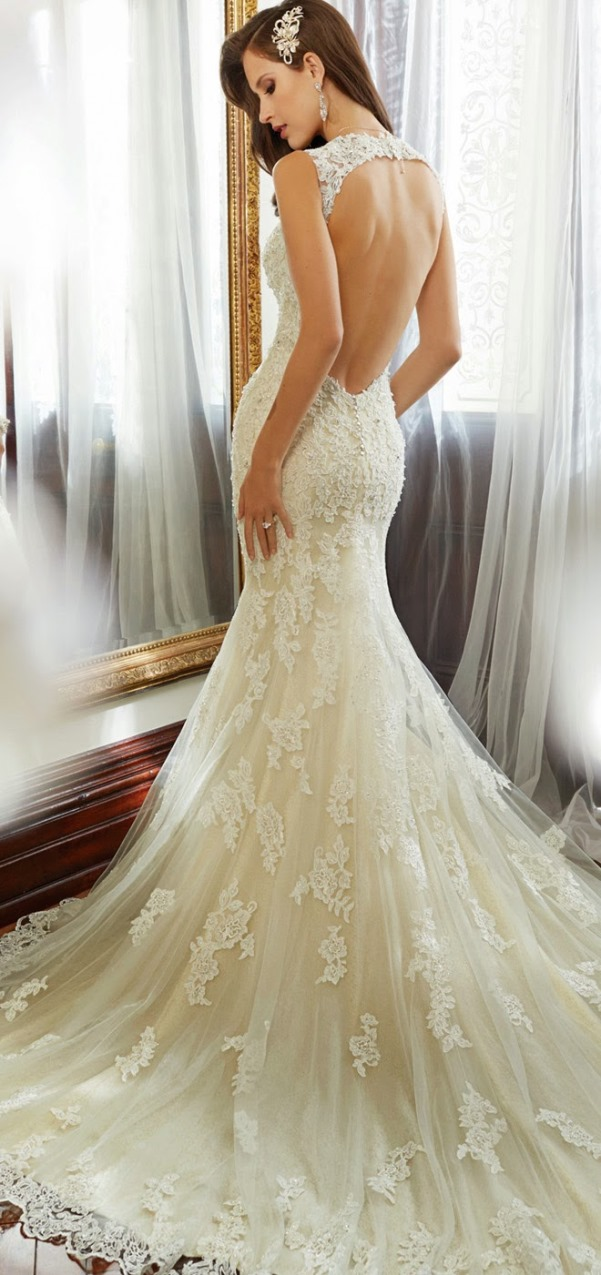 Sophia Tolli 2015 Bridal Collection - LoveweddingsNG10