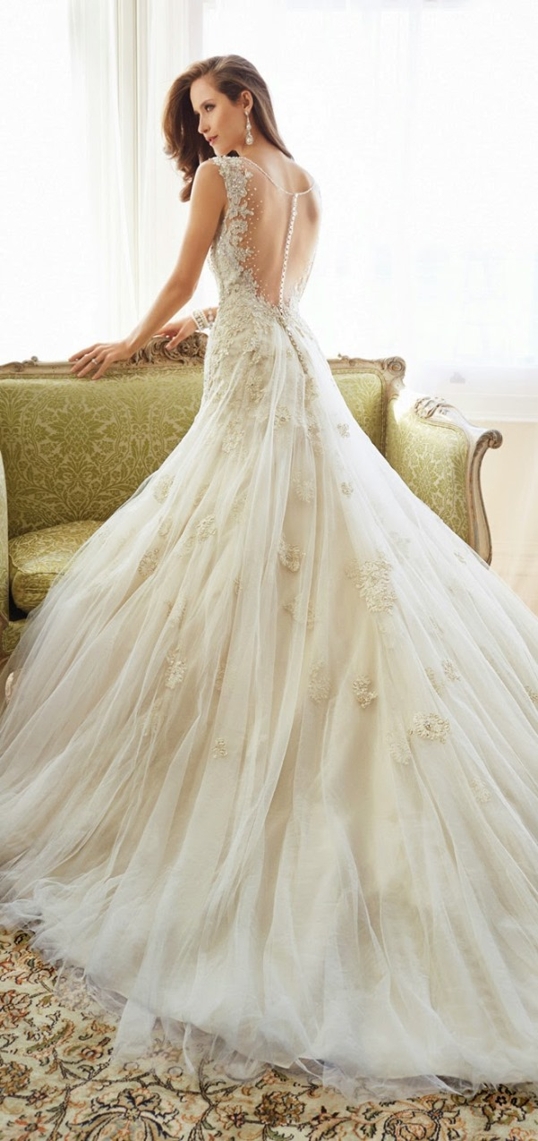 Sophia Tolli 2015 Bridal Collection - LoveweddingsNG13