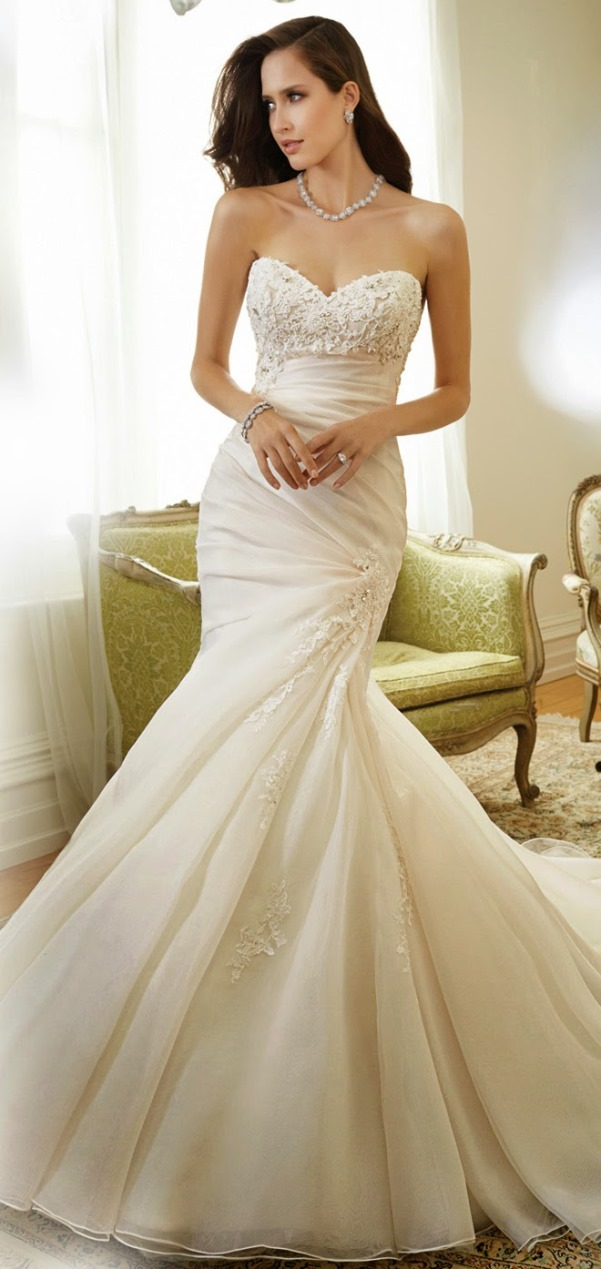 Sophia Tolli 2015 Bridal Collection - LoveweddingsNG17