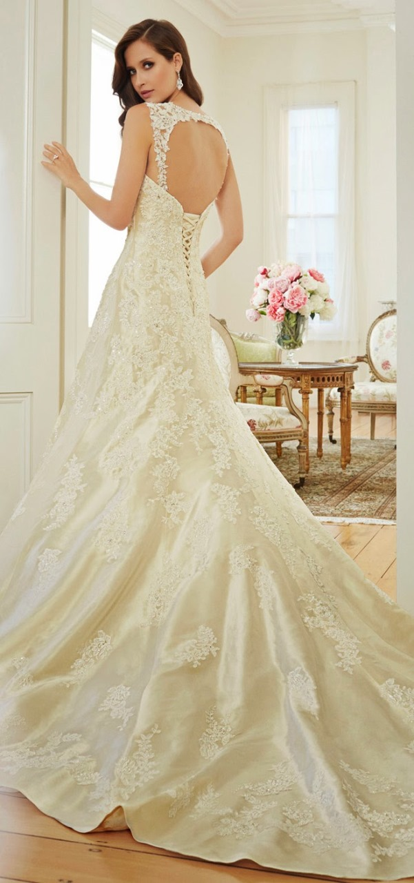 Sophia Tolli 2015 Bridal Collection - LoveweddingsNG4