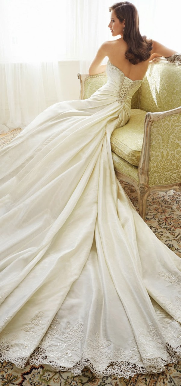 Sophia Tolli 2015 Bridal Collection - LoveweddingsNG48
