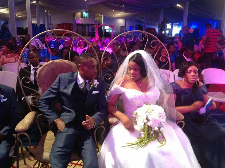 Stephen Keshis daughter - Ifeyinwa weds Emeke Enyihor LoveweddingsNG11