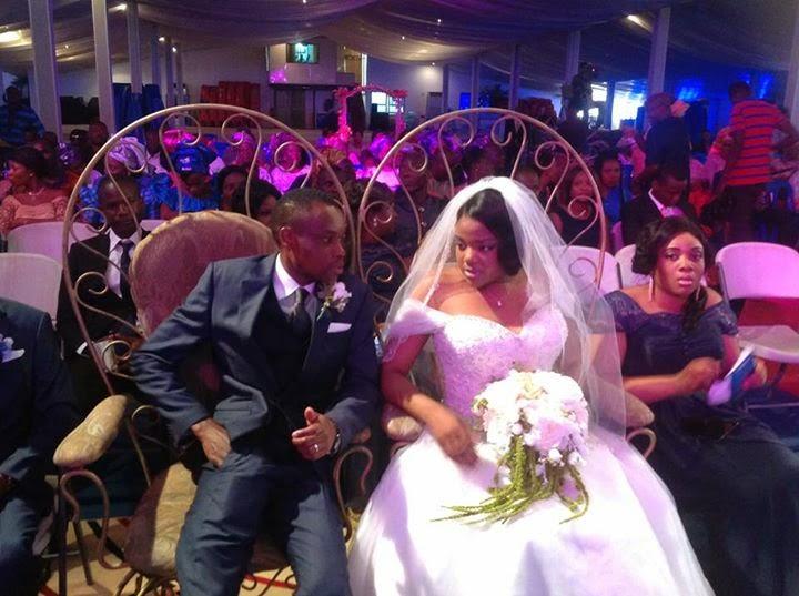 Stephen Keshis daughter - Ifeyinwa weds Emeke Enyihor LoveweddingsNG11