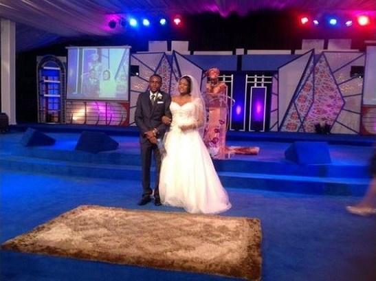 Stephen Keshis daughter - Ifeyinwa weds Emeke Enyihor LoveweddingsNG4