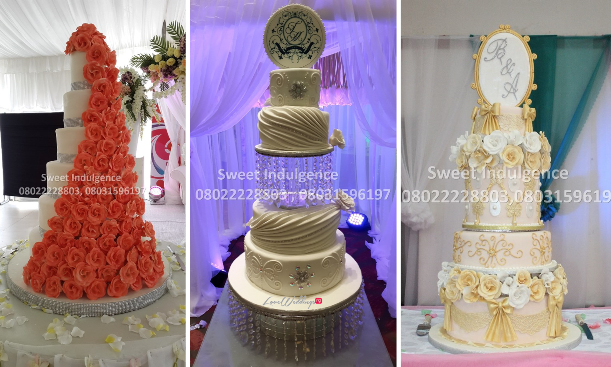 Sweet Indulgence - Choosing The Right Wedding Cake LoveweddingsNG feat