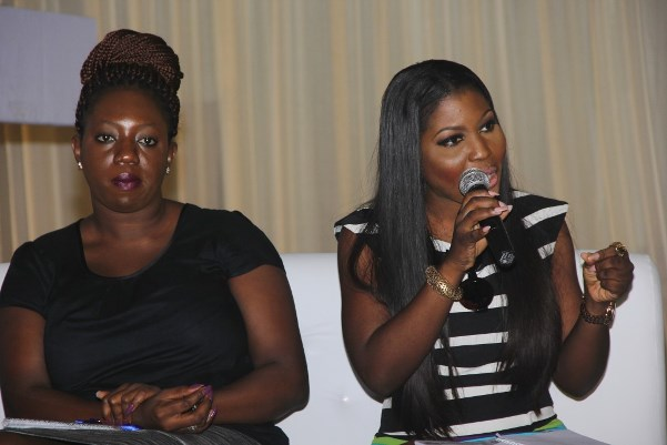 TWICE 2015 - Lara Bankole (All A Bride Needs) & Bisola Borha (TrendyBEE Events)