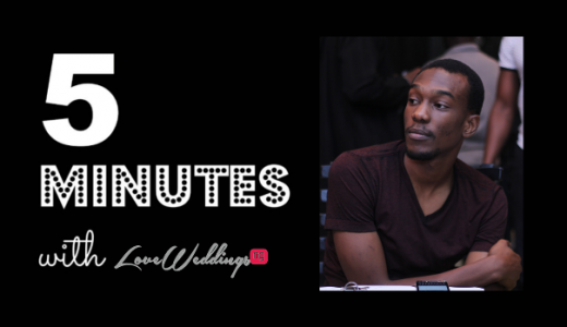 5 minutes with Tolu Sholanke LoveweddingsNG