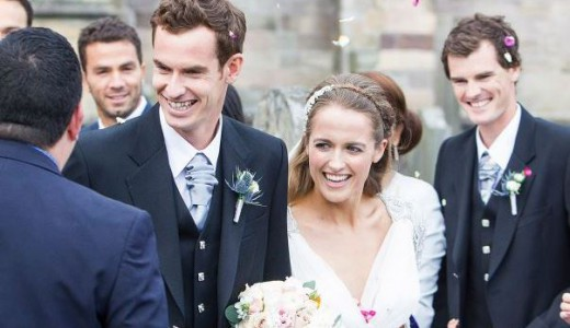Andy Murray and Kim Sears LoveweddingsNG17