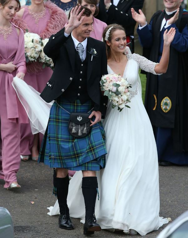 Andy Murray and Kim Sears LoveweddingsNG19