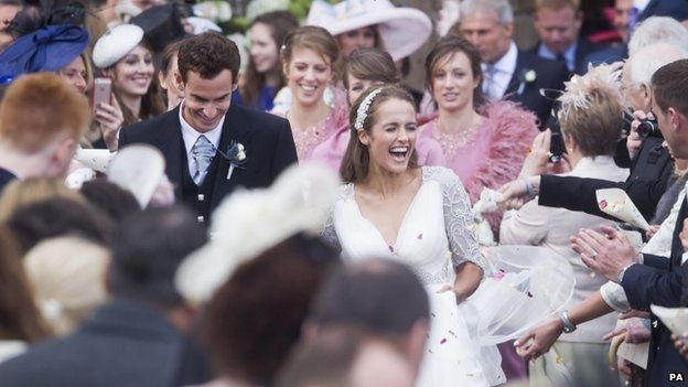Andy Murray and Kim Sears LoveweddingsNG2