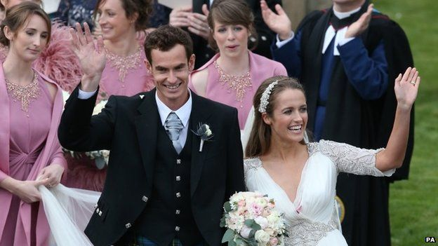 Andy Murray and Kim Sears LoveweddingsNG3