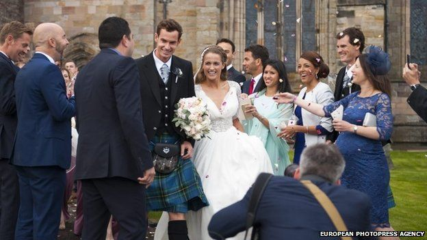 Andy Murray and Kim Sears LoveweddingsNG5