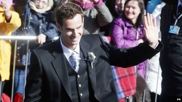 Andy Murray and Kim Sears LoveweddingsNG7