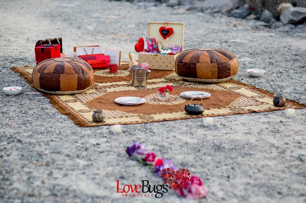 Arabian Night Proposal Styled-Shoot by LoveBugs LoveweddingsNG