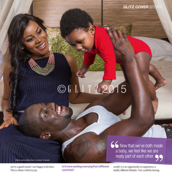 Damilola Adegbite and Chris Attoh Glitz Magazine LoveweddingsNG
