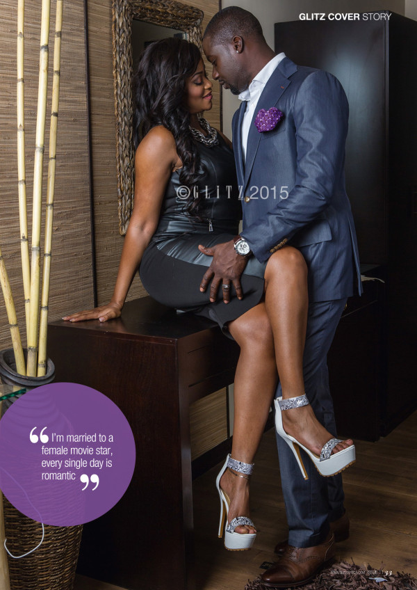Damilola Adegbite and Chris Attoh Glitz Magazine LoveweddingsNG1