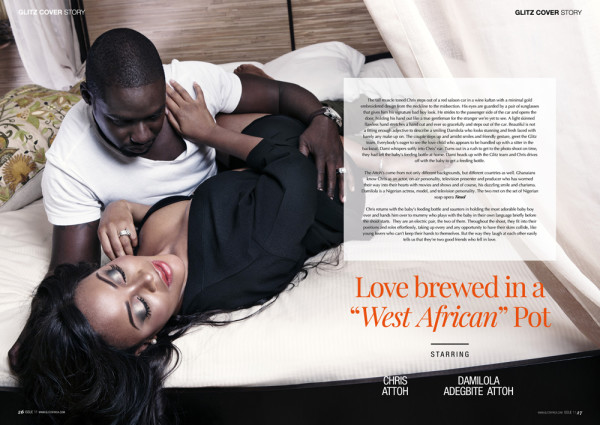 Damilola Adegbite and Chris Attoh Glitz Magazine LoveweddingsNG2