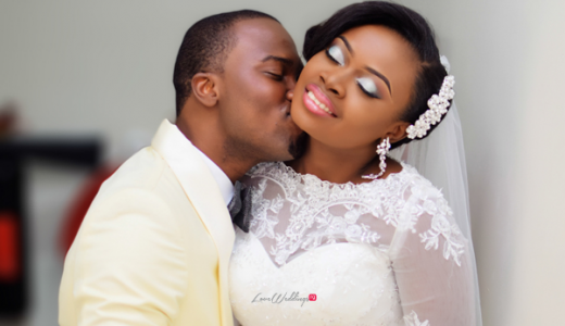 LoveweddingsNG Eniola and Abiodun White Wedding Haykyns Touch