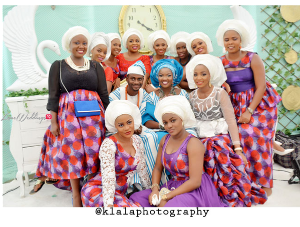 LoveweddingsNG Nigerian Traditional Wedding Temi Omoge adumaradan weds Segun Dangote1