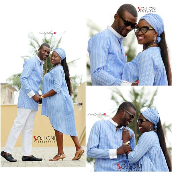 LoveweddingsNG Prewedding Temilade and Segun