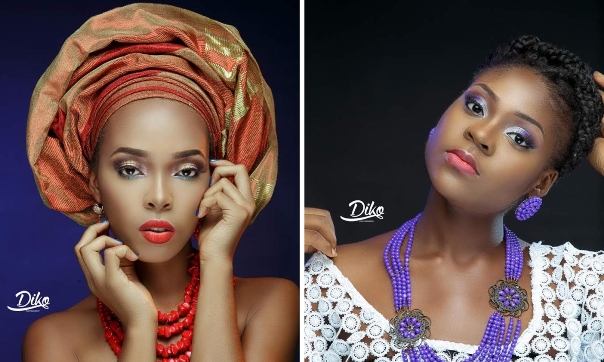 LoveweddingsNG Traditional Bridal Inspiration T.Alamode Makeup feat